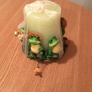Cute Frog Candle